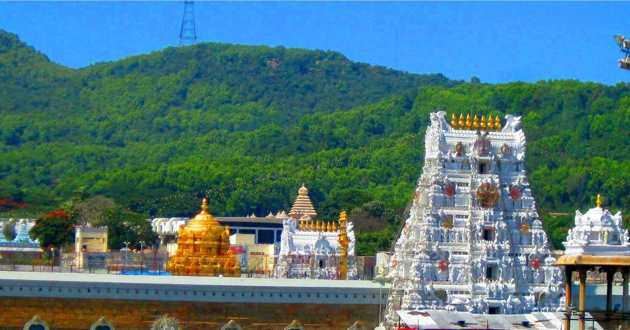 Tirupati Balaji darshan tour package from Mumbai