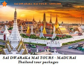 Thailand tour packages from Madurai - 3 Nights / 4 Days
